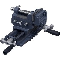 Youthup - Manually Operated Cross Slide Drill Press Vice 70 mm