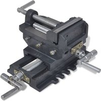Manually Operated Cross Slide Drill Press Vice 78 mm