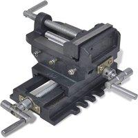 Zqyrlar - Manually Operated Cross Slide Drill Press Vice 78 mm