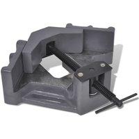 Manually Operated Drill Press Corner Vice 115 mm - Vidaxl