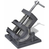 Manually Operated Tilting Drill Press Vice 110 mm