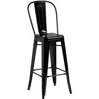 Marabel Bar Stool - Gloss Black