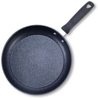 Marble Frypan Frying Pan Non Stick Pot Maifan Stone Gas Electric Induction Hob Kitchen Cookware 30CM