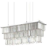 Ideal Lux Martinez - 6 Light Ceiling Pendant Chrome