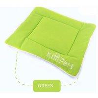 Insma - Mattress Carpet Cushion Bed Sleeping Niche Velvet For Dog Cat Animals Green 87 * 54cm XL