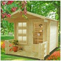 Shire - Maulden Log Cabin 7 x 7