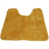 Mayfair Cashmere Touch Ultimate Microfibre Pedestal Mat (50x50cm) (Ochre)