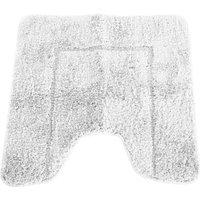 Cashmere Touch Ultimate Microfibre Pedestal Mat (50x50cm) (Cream) - Mayfair