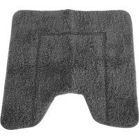 Mayfair Cashmere Touch Ultimate Microfibre Pedestal Mat (50x50cm) (Grey)
