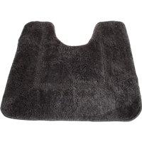 Mayfair Cashmere Touch Ultimate Microfibre Pedestal Mat (50x50cm) (Charcoal)