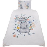 Me To You Being Kind Duvet Cover Set (Single) (White)
