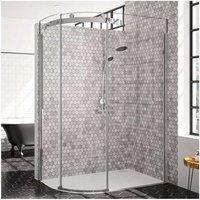 10 Series Single Offset Quadrant Shower Enclosure 1200mm x 900mm LH - Clear Glass - Merlyn