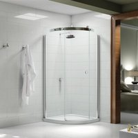 Merlyn 10 Series 800 X 800 1 Door Quadrant Shower Enclosure Left Hand