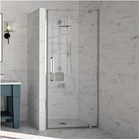 Merlyn 10 Series Pivot Shower Door 800mm Wide - Clear Glass