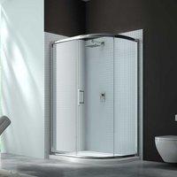 Merlyn 6 Series Single Offset Quadrant Shower Enclosure 900mm x 760mm - Clear Glass