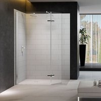 Merlyn 8 Series 1200 X 900 Walk In Shower Enclosure With Tray