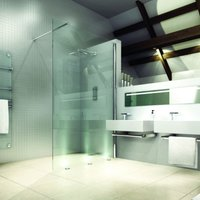 8 Series 1400 X 900 Walk In Shower Enclosure With Tray - Merlyn