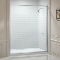 8 Series 1600mm Sliding Shower Door - Merlyn