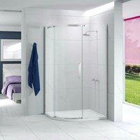 Ionic Essence Offset Quadrant Single Shower Enclosure, 1200mm x 900mm, Left Handed - Merlyn