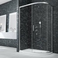 Merlyn Ionic Essence Framed Offset Quadrant Shower Enclosure 1200mm x 900mm - 8mm Glass