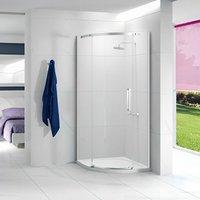 Ionic Essence Quadrant Single Shower Enclosure, 900mm x 900mm, Left Handed - Merlyn