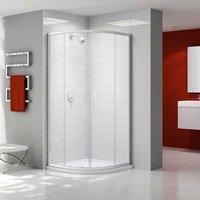 Ionic Express Quadrant Double Shower Enclosure, 800mm, 6mm Glass - Merlyn