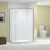 Ionic Source Offset Quadrant Shower Enclosure 1000mm x 800mm - 6mm Glass - Merlyn