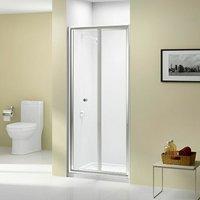 Ionic Source Bi-Fold Shower Door 700mm Wide - 4mm Glass - Merlyn