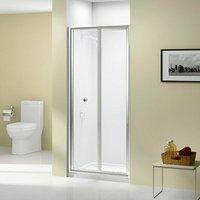 Ionic Source Bi-Fold Shower Door 800mm Wide - 4mm Glass - Merlyn