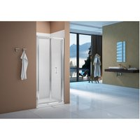Merlyn Vivid Boost 760mm Bi-fold Shower Door