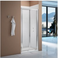 Merlyn Vivid Boost 900mm Bi-fold Shower Door