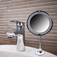 Flexible Mirror with LED light - Mesa Living