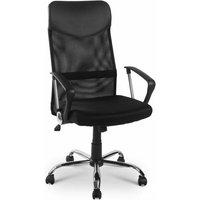 Mesh High Back Executive Multicolour Adjustable Swivel Office Chair, Recline, Mesh Seat(Black 1)