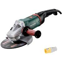 Metabo W22-230MVT 110V 230mm / 9 Angle Grinder 606462390 with Plug Socket