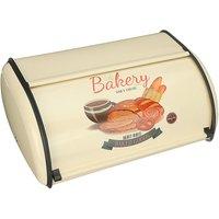 Metal Bread Box Retro Bin Cafe Kitchen Storage Containers