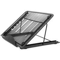 Metal Stand Holder Foldable for Diamond Painting LEDs Light Laptop Drawing Tablet,model:Black
