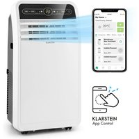 Klarstein - Metrobreeze New York Smart 7k, Mobile Air Conditioner, 7000 BTU / 2.1 kW, EEC A, Remote Control