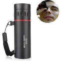 Mini 30x25 HD Optical Monocular Low Night Vision Portable Focus Telescope Zoom 10X Range for Travel Hunting