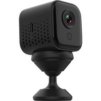 Mini Camera Waterproof Security Camera Home Safety HD 1080P Web Camera Video Camcorder DVR with Night Vision,model:Black