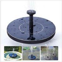 Mini Solar Water Mercury Garden Floating Fountain Solar Water Sprinkler Outdoor Running Water Fountain Solar Fountain