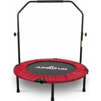 Mini Trampoline Fitness Pliable Double-Bar - Ø92cm - Rouge - Jump4fun