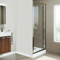 Mira Leap 800 x 800mm Pivot Shower Door Side Panel Enclosure Tray FREE Waste
