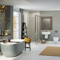 Ellis storm bathroom suite with shower enclosure 1200 x 800 - Mode