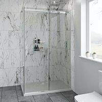 Mode Harrison 8mm easy clean rectangular shower enclosure 1700 x 800