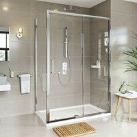 Meier 8mm framed sliding shower enclosure 1700 x 800 - Mode
