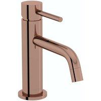 Spencer round rose gold basin mixer tap - Mode