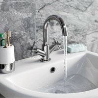 Tate basin and bath shower mixer tap pack - Mode
