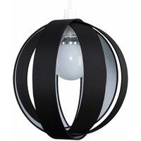 J90 Globe Ceiling Pendant Light Shade - Black - MINISUN