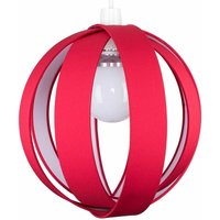 J90 Globe Ceiling Pendant Light Shade - Red - Red