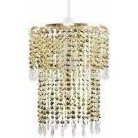 Decorative Jewel Acrylic Bead Ceiling Pendant Light Shade -
